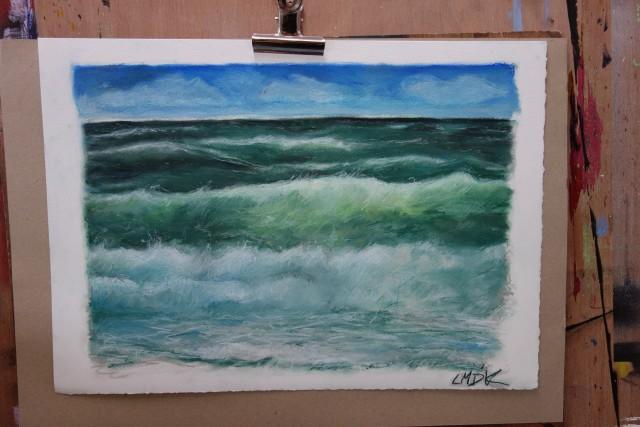 grønt hav