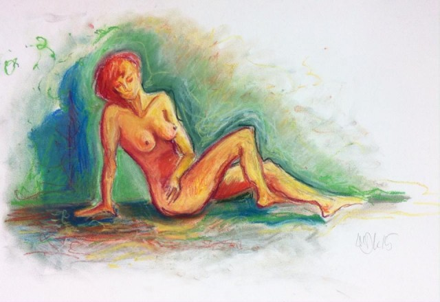 woman in chalk (1)