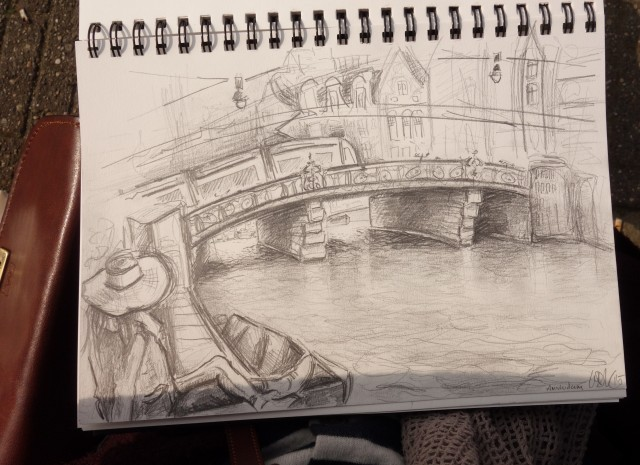 Amsterdam drawing