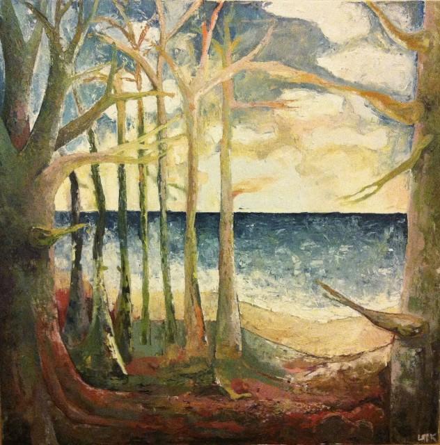 træer ved vand
